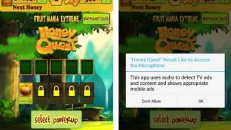 Стотина апликации и игри на мобилните нè прислушуваат низ микрофоните