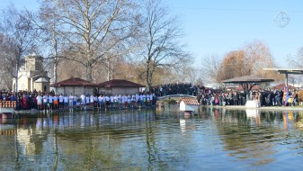 (Фото) Жителите на општина Илинден масовно го одбележаа празникот Водици