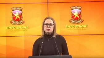ВМРО-ДПМНЕ: Одлуката за 5 потпретседатели на Собранието е дополнителен трошок за граѓаните