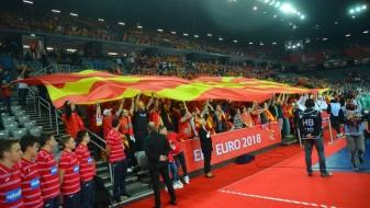 Македонија против европскиот вицепрвак Шпанија во Вараждин