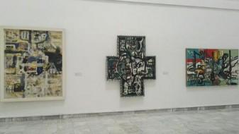 Затворање на изложбата на Мазев