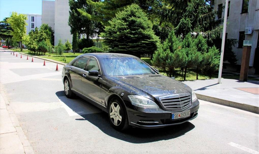 Владата ќе го продава  мерцедесот  на аукција со почетна цена од 230 000 евра