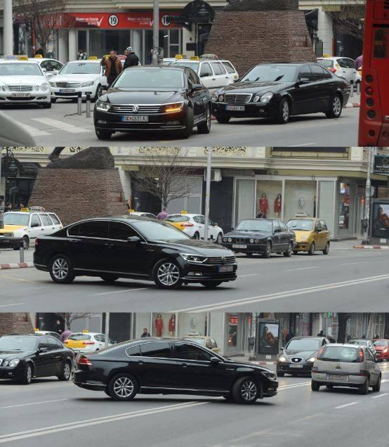 """Возилото на министерот за правда повторно е на """"Ѕидот на сообраќајниот срам"""""""