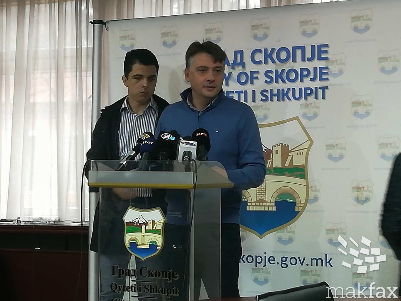 Со пари од проектот  Скопје 2014  ќе се поставуваат енергетски ефикасни фасади