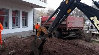 Градежни активности во штипската населба Ново Село