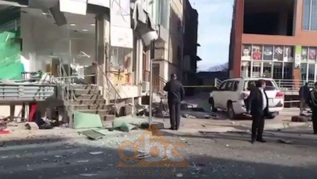 Експлозија во Скадар  мета на нападот бил албански бизнисмен
