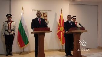 (Во живо) Заедничка прес-конференција на македонскиот и бугарскиот претседател