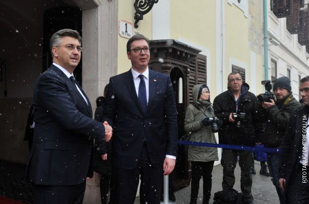 Вучиќ и Пленковиќ го отвориле и прашањето за воени репарации