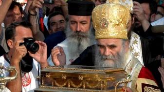 Амфилохие: Власта да престане со прогон на православните свештеници