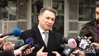 (Видео) Ова е брука од суд, рече Груевски пред судиите