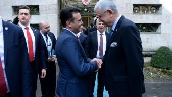 (Видео) Средба Заев и Кахраман: Парламентот на Турција ги поддржува интеграциите на Македонија во НАТО