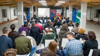 (Видео) Македонската стартап заедницата на конференција– PODIM2018 во Сеавус едукативен и развоен центар