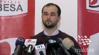 (Видео) Беса го обвинува Касами за фалсификат и најавува кривична пријава против него