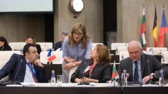 Захариева: Бугарија нема да биде само територија на самитот ЕУ-Турција