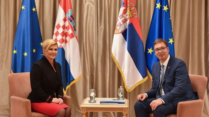 Грабар-Китаровиќ: Со Вучиќ не зборувавме за минатото