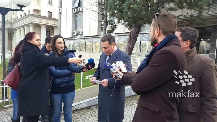 (Видео) Груевски: Си ги бараме нашите права, судија