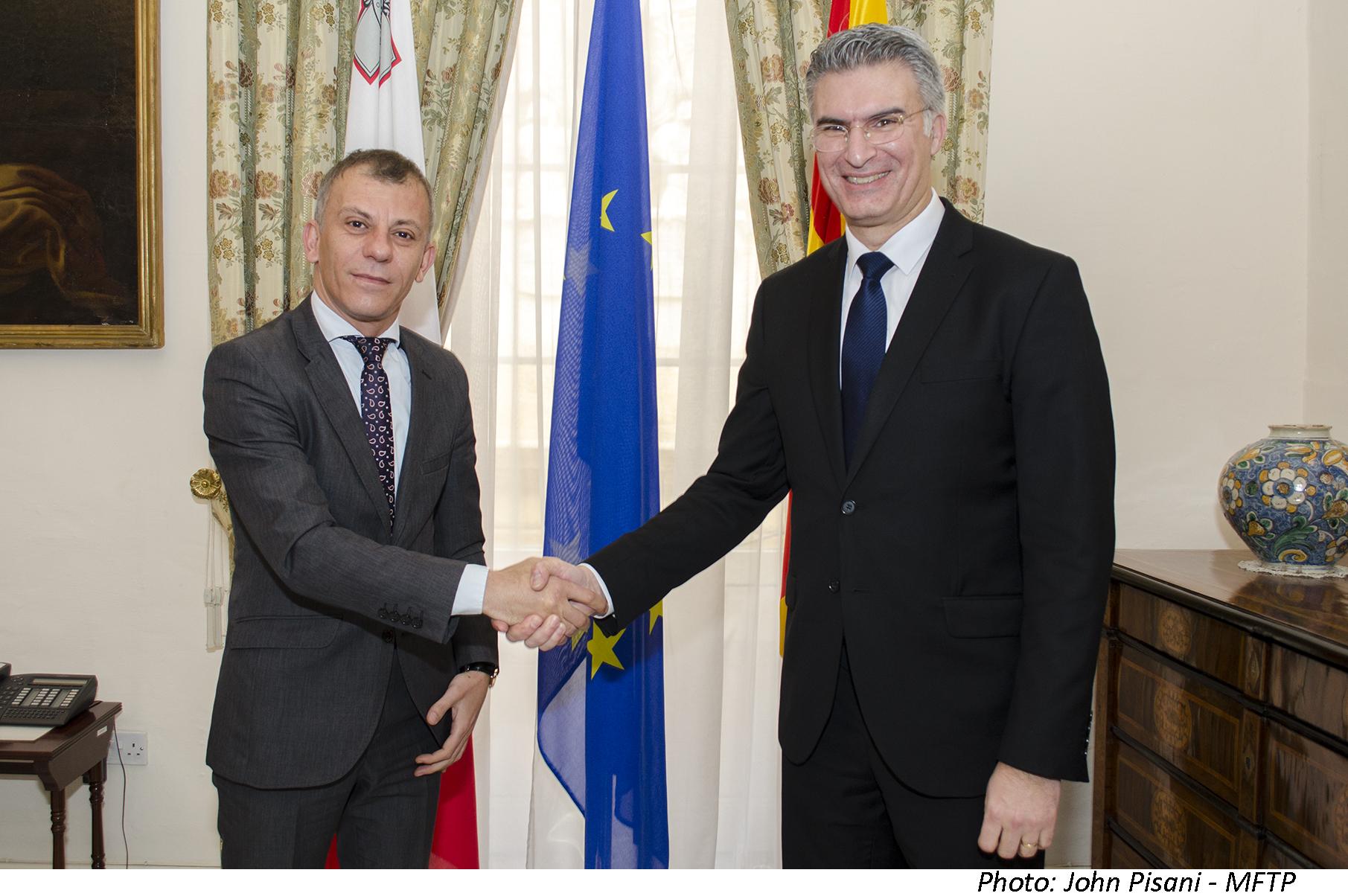 Се зајакнува соработката во повеќе области меѓу Македонија и Малта