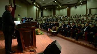 Иванов одржа предавање пред членовите на Советот за високо образование на Турција