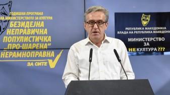 (Видео) Вељановски: Годишната програма на Министерството за култура е скандалозна