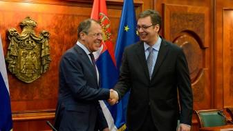 Вучиќ – Лавров: Не сакаме дa ги нарушиме односите меѓу Србија и Русија