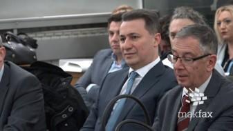 (Видео) Секој ден сме на судење, ова не е фер, му рече Груевски на судијата