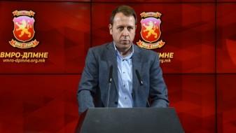 ВМРО-ДПМНЕ: Влатко Ѓорчев веќе не е координатор на пратеничката група во Собранието