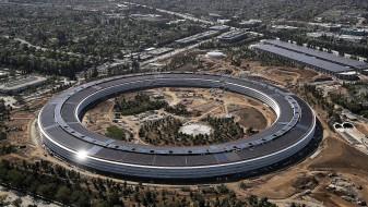 """(Видео) Новата зграда на """"Епл"""" е строго чувана тајна, никој не може да влезе внатре"""