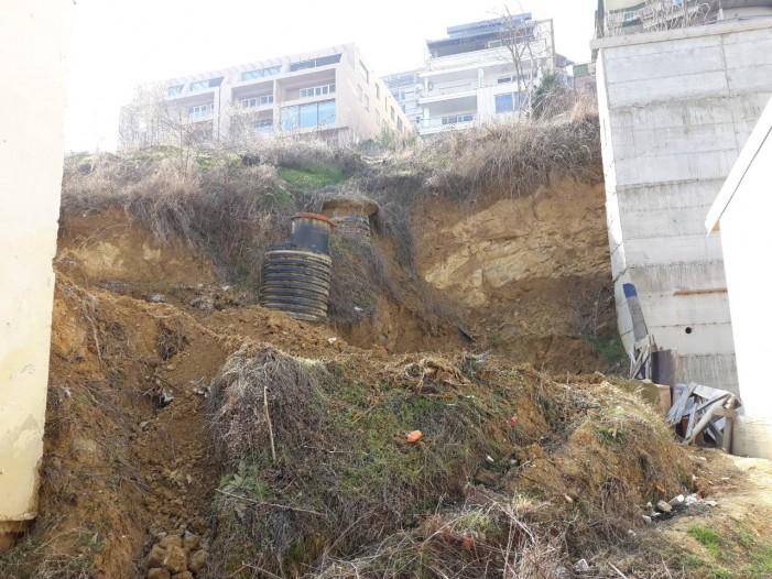 Општина Центар гради потпорен ѕид што ќе штити куќи на Водно