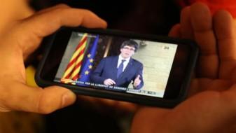 Шпанската полиција тргнала да го апси Пуџдемон, а таму ги пречекал комичар