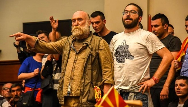 Владо Јовановски излегува од затворот во Шуто Оризари