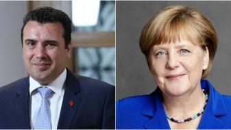 Заев ќе се сретне со Меркел