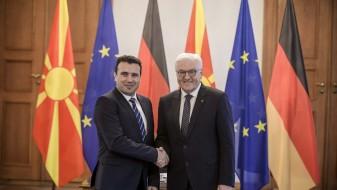 Заев-Штајнмаер: Решението на спорот за името ќе даде позитивен импулс за регионот