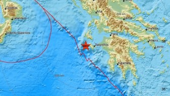 Земјотрес со јачина од 4,8 степени на Закинтос