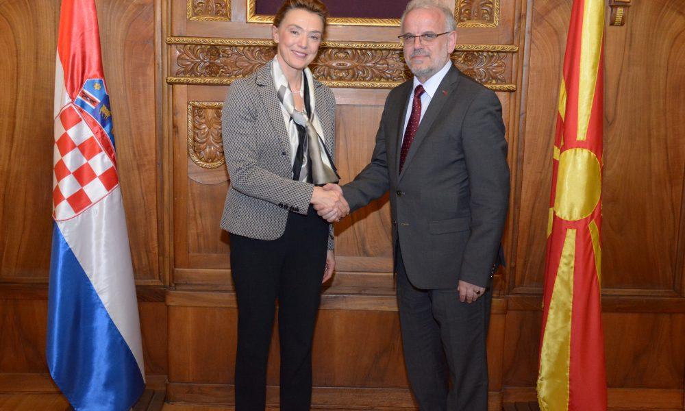 Џафери  Значајна е поддршката од Хрватска за евроатланските интеграции