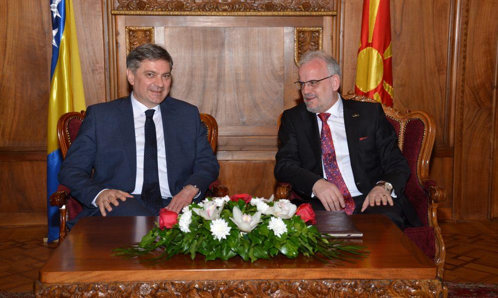 Џафери Звиздиќ  Посилна парламентарна соработка помеѓу Македонија и БиХ