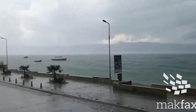 Охрид, невреме