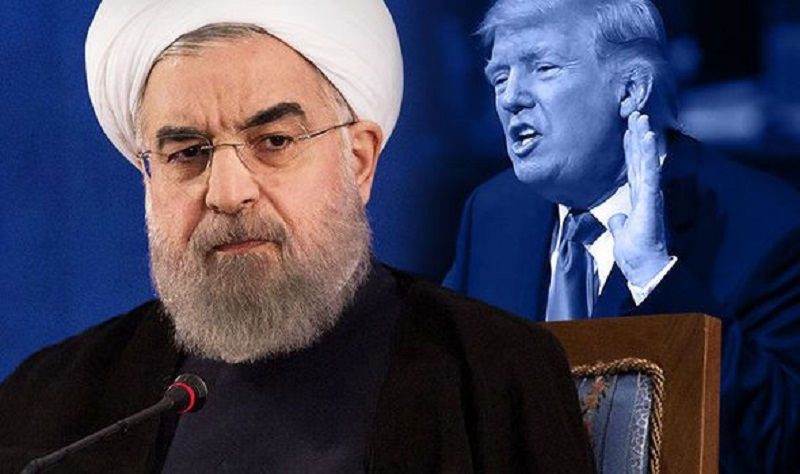 Хасан Рохани, Доналд Трамп