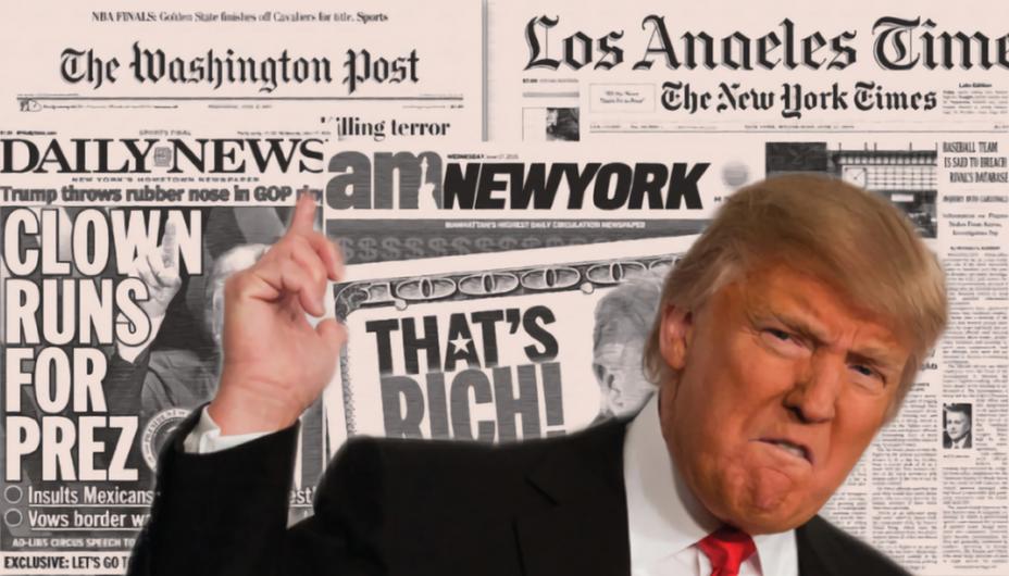 Доналд Трамп, медиуми