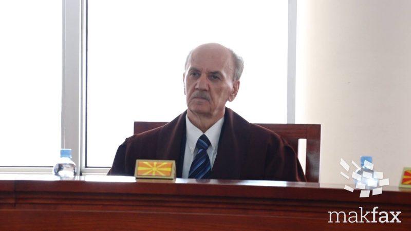 Јован Јосифовски, уставен судија