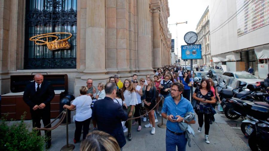Старбакс во Милано
