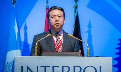 Менг Хонгвеј, Интерпол