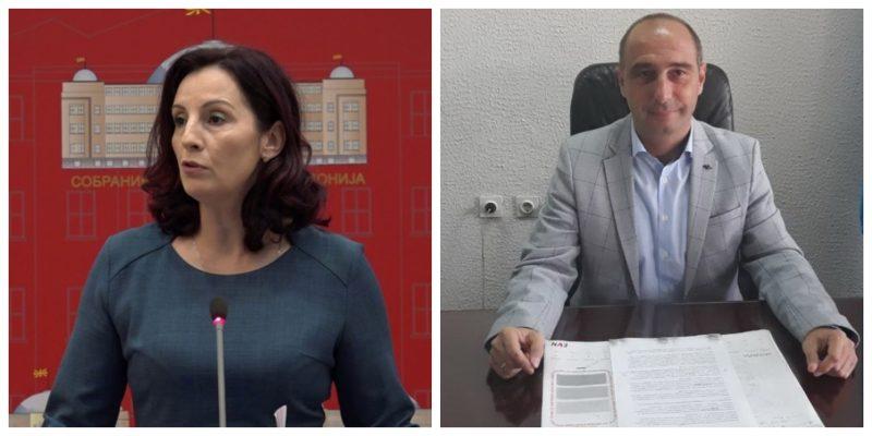 (Видео) ДКСК: Нема непотизам во случаите со пратеничката Александрова и градоначалникот на Берово