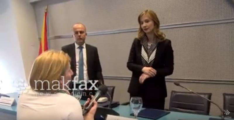(Bидео) Гувернерката одби да говори за судирот на интереси на директорката за супервизија