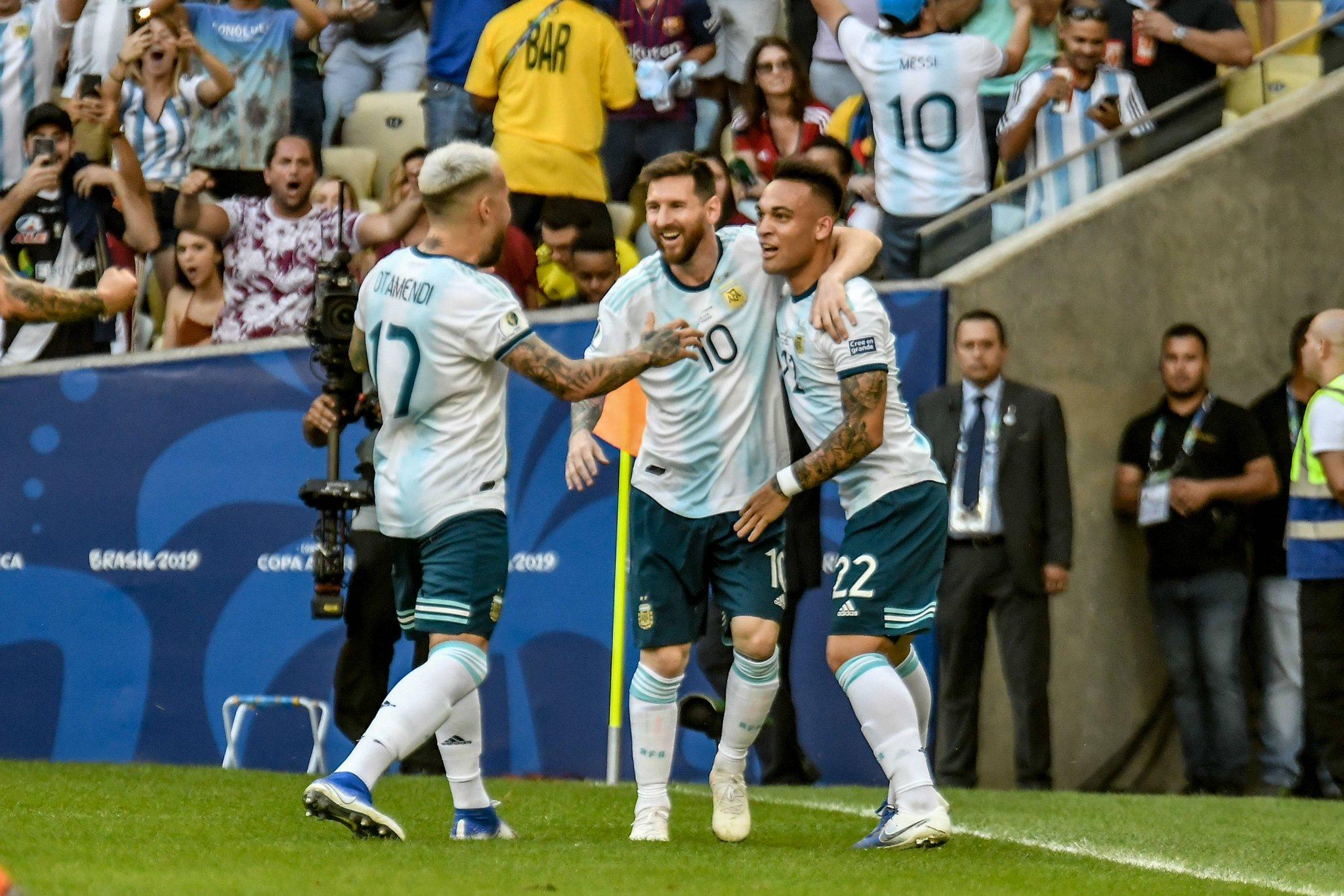 Аргентина-Бразил во полуфиналето на Копа Америка,Чиле подобар од Колумбија (видео)