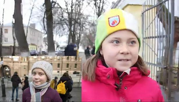 (Видео) Грета Тунберг има двојничка во Русија која сака да ја исчисти планетата