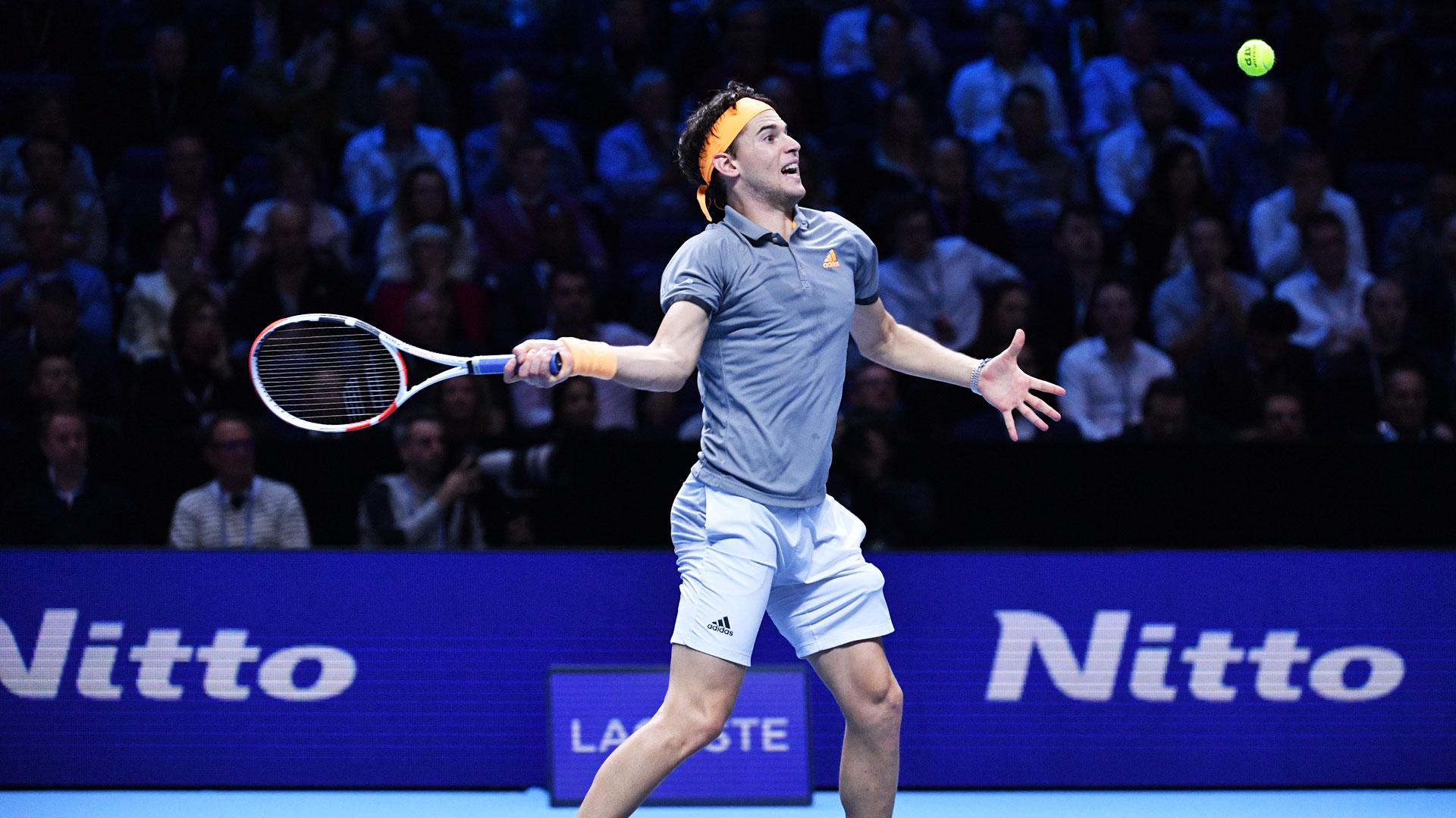 Тениски маратон во Лондон, Тим преку Ѓоковиќ обезбеди полуфинале