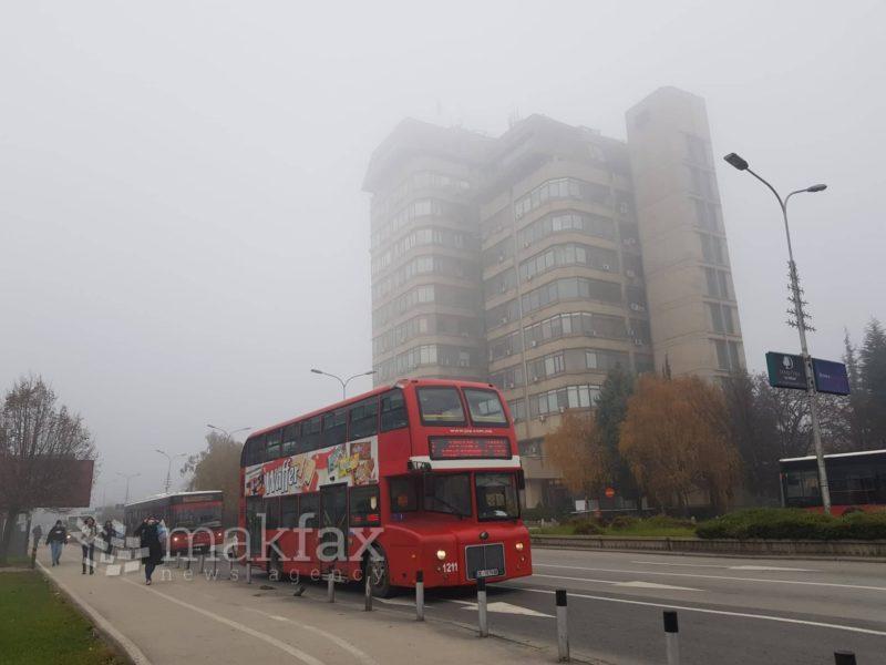 Град Скопје објави итни мерки и препораки поради загадувањето