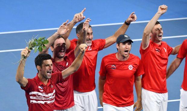 Србија со првиот АТП куп, Надал лут: Фановите не разбираат тенис, мислат дека е фудбал