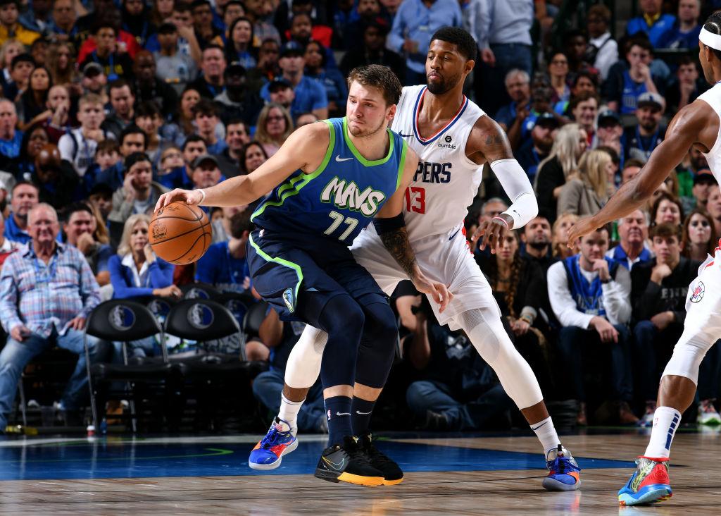 НБА: Дончиќ трагичар, тешка повреда на Пауел, ЛА Клиперс славеа против Далас (Видео)