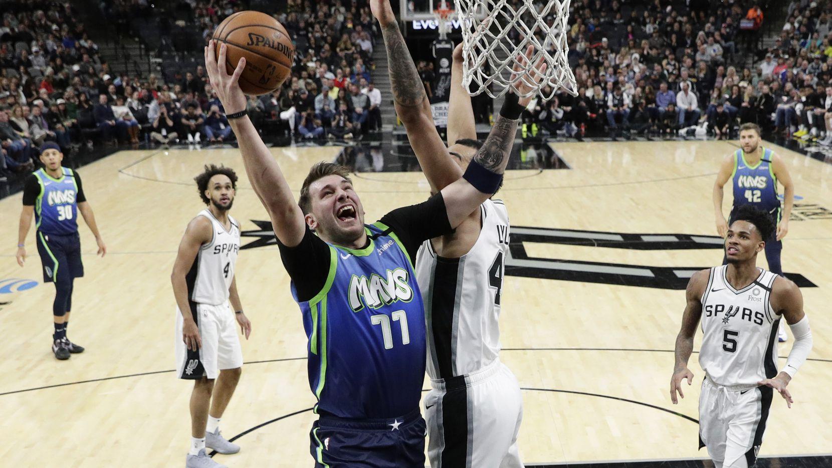 НБА: Дончиќ го реши дербито на Тексас (Видео)